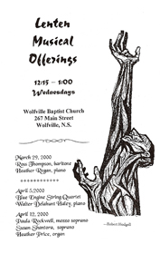Lenten Musical Offerings Program